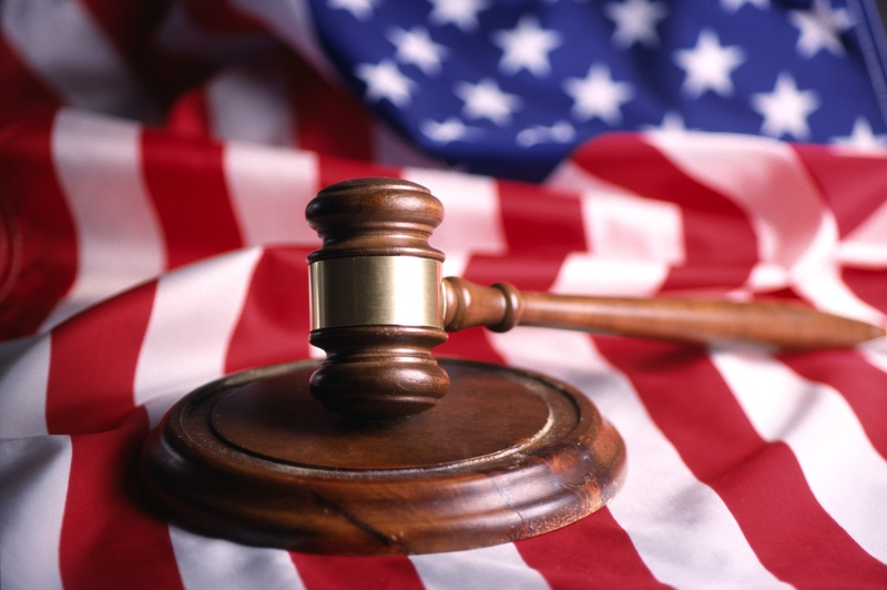 GENERIC GAVEL AND FLAG