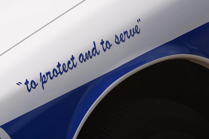 GENERIC POLICE CAR